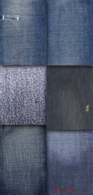 Set denim texture