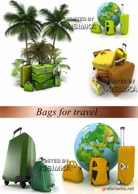 Stock Photo: Bags for travel