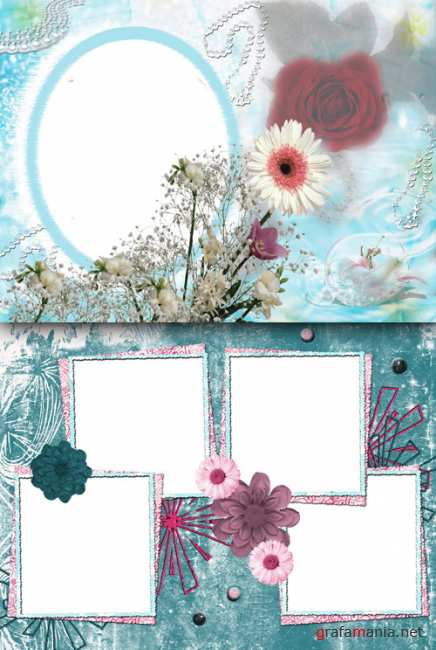 Photo Frame - Delicate colors