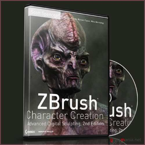 Character Creation DVD In Zbrush 4 - 2nd Ed by Scott Spencer [2011, ENG]