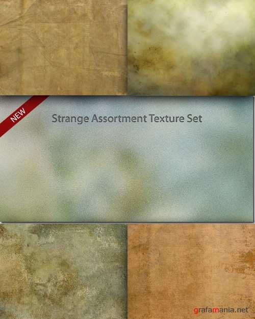 Strange Assortment Texture Set