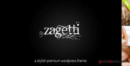 ThemeForest Zagetti™ I A Stylish Wordpress theme