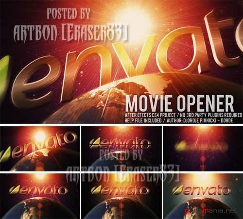 Movie Opener - Project for After Effects (Videohive)