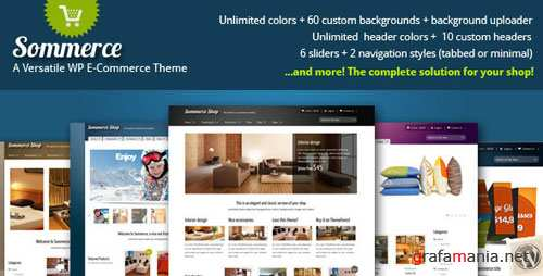 ThemeForest Sommerce Shop - A Versatile E-commerce Theme