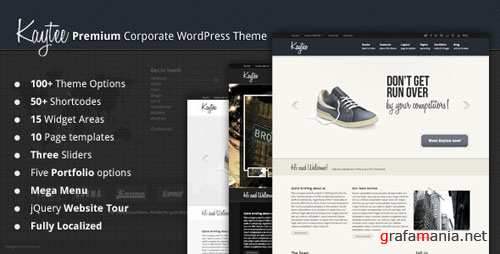 ThemeForest Kaytee - Premium Corporate WordPress Theme