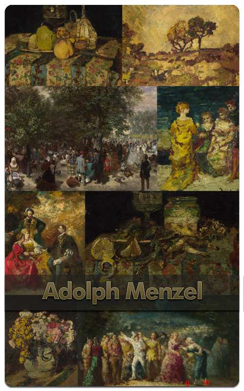Worldwide Painting - Adolph Menzel