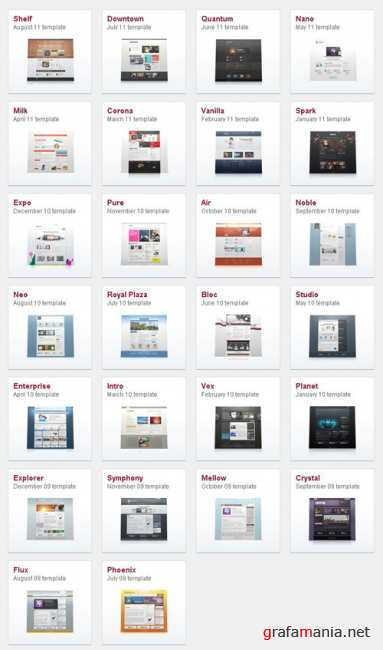 YOOtheme Joomla Templates Collection (August 2011)