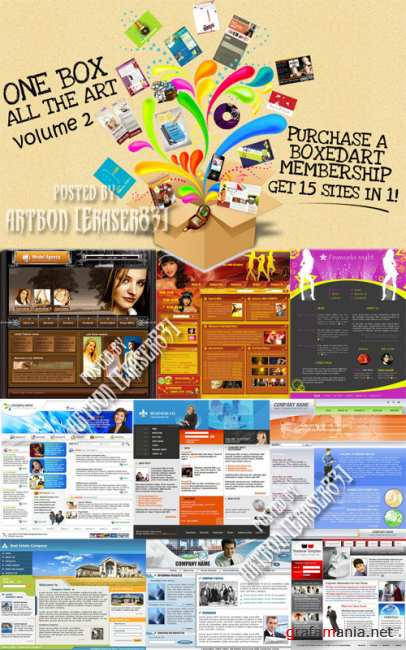 BoxedArt Templates Collection (Volume 2)