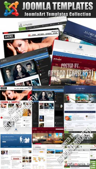 JoomlaArt Templates Collection (August 2011)
