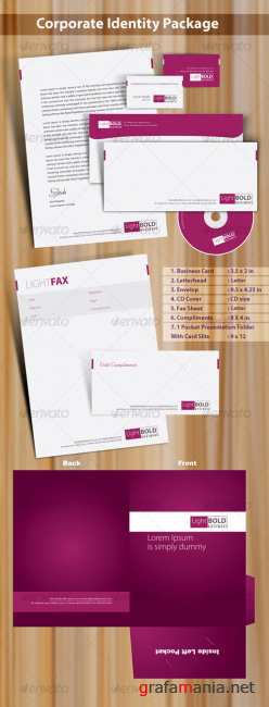 High quality print ready corporate identity 7 pack – GraphicRiver