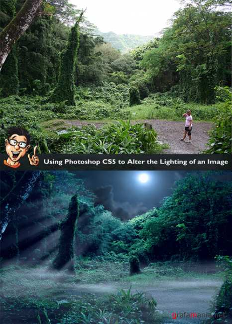 Using Photoshop Cs5 Alter the Lighting of an Image