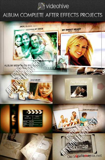 Photo Album Pack - Videohive and RevoStock Projects