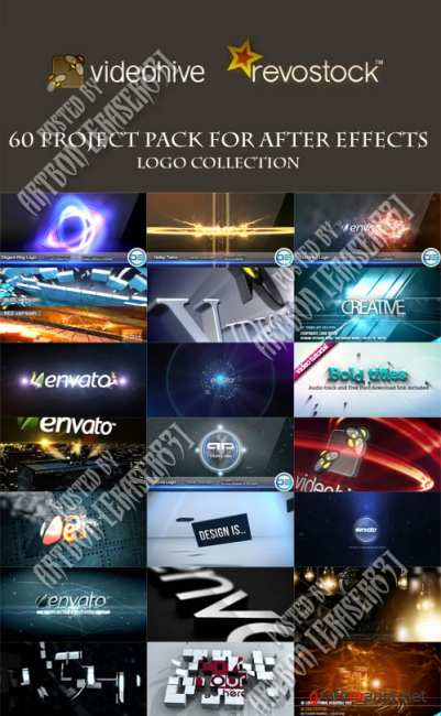 60 Project Pack for After Effects - Logo Collection