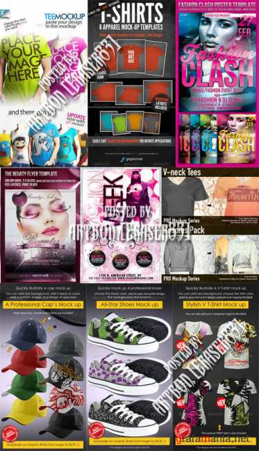 GraphicRiver Fashion Templates Pack