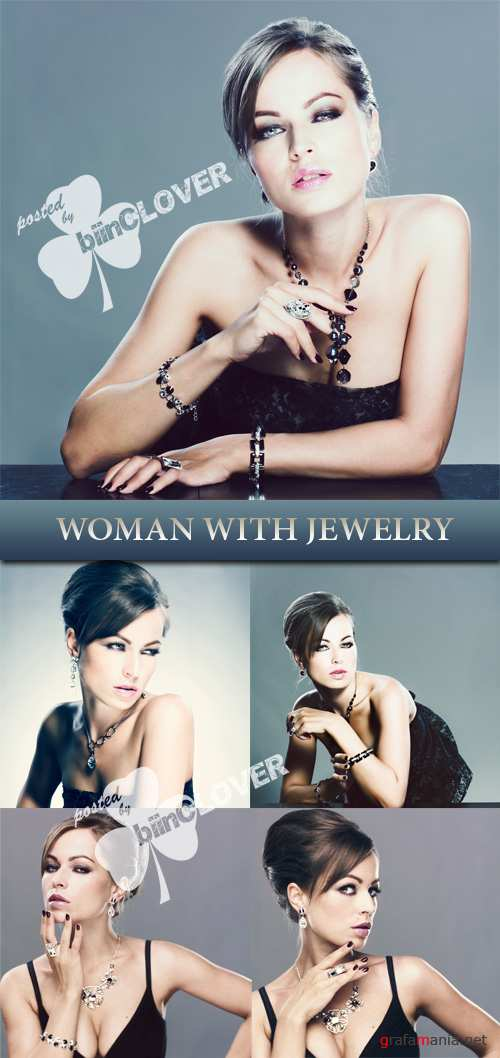 Woman with jewelry