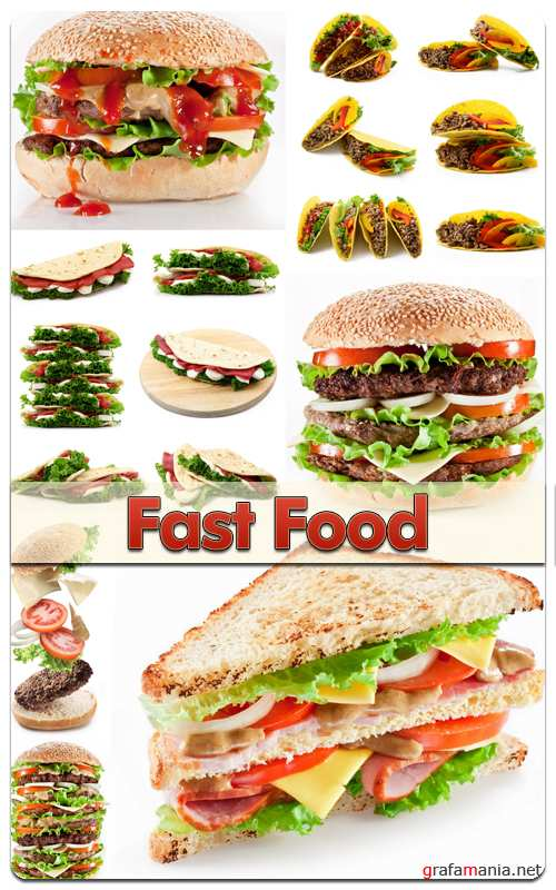 Stock Photo - Fast Food