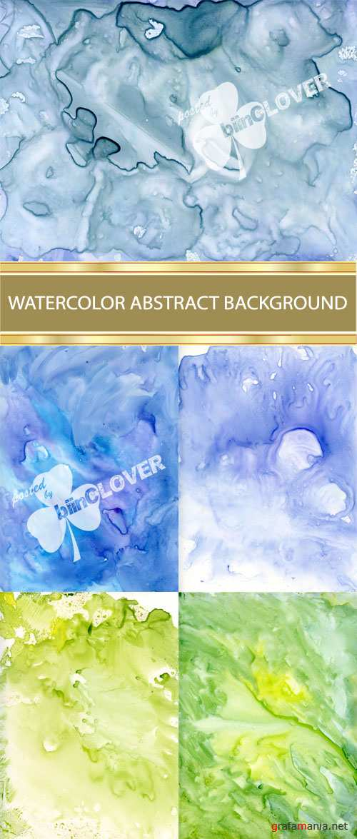 Watercolor abstract  background 0004
