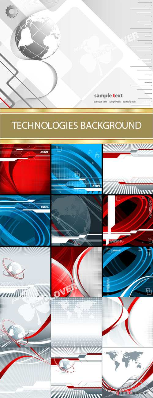 Technologies backgrounds 0009