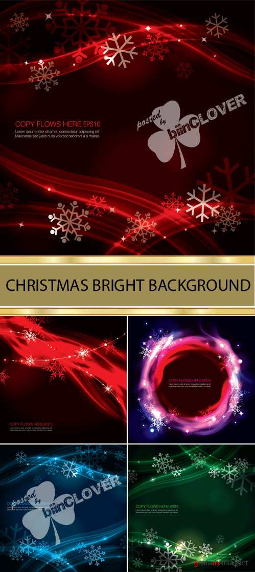 Christmas bright background 0009