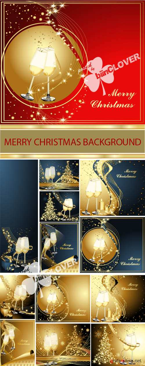 Merry Christmas background 0009