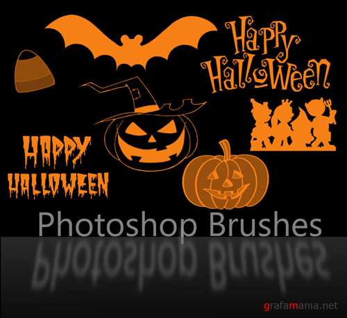 Halloween Brush Set