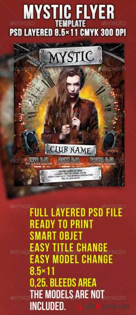 GraphicRiver Mystic Flyer Template