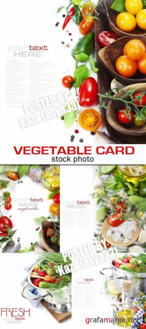 Vegetable cards