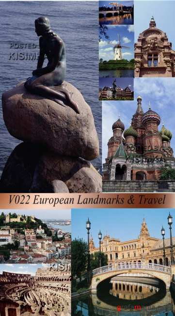 V022 European Landmarks & Travel
