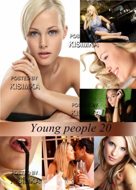 Stock Photo: Young people 20