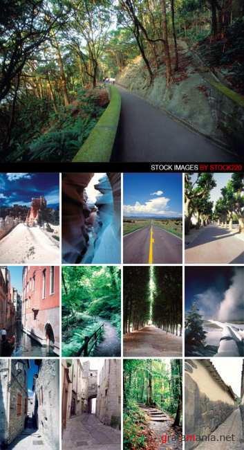 Stock Photo - WT30 - Discover Scenic Byways and Highways