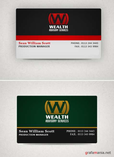 Wealth Business card