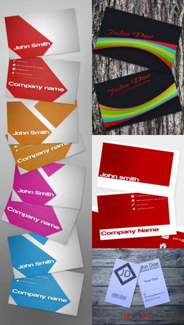 PSD Business Cards 2011 pack # 18