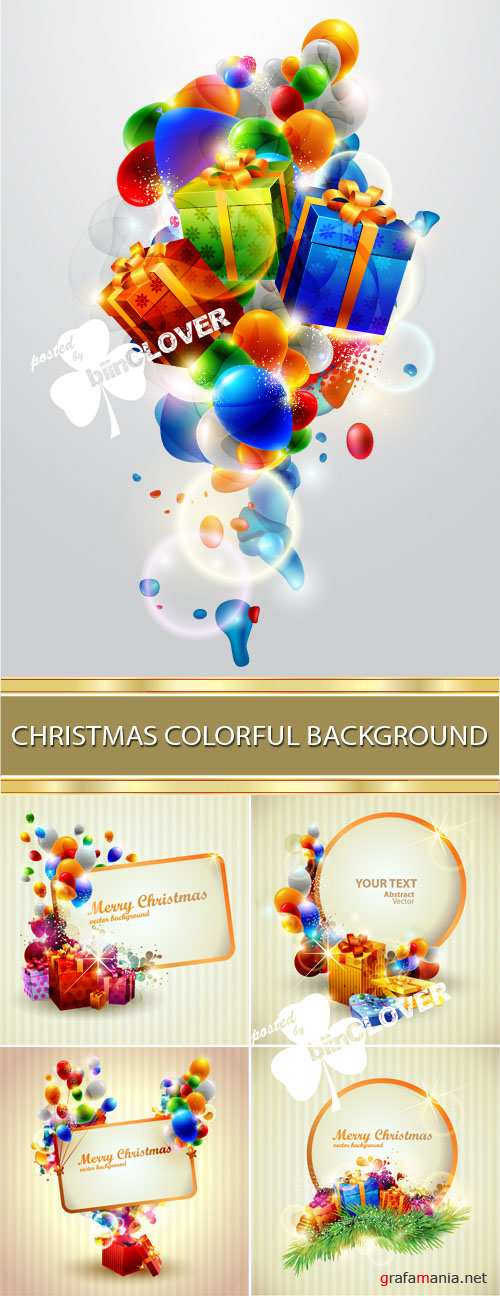 Christmas colorful background 0015