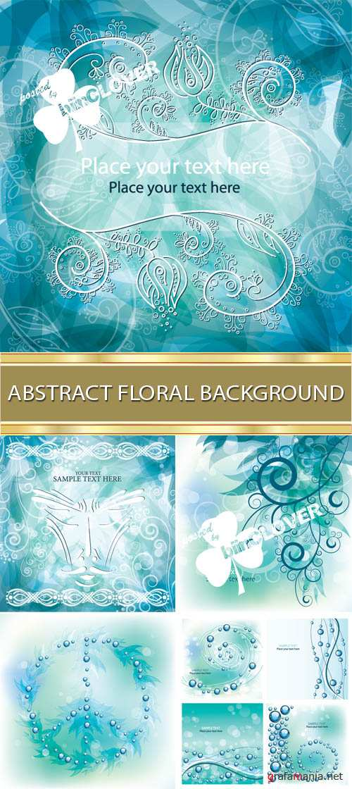 Abstract floral background 0015