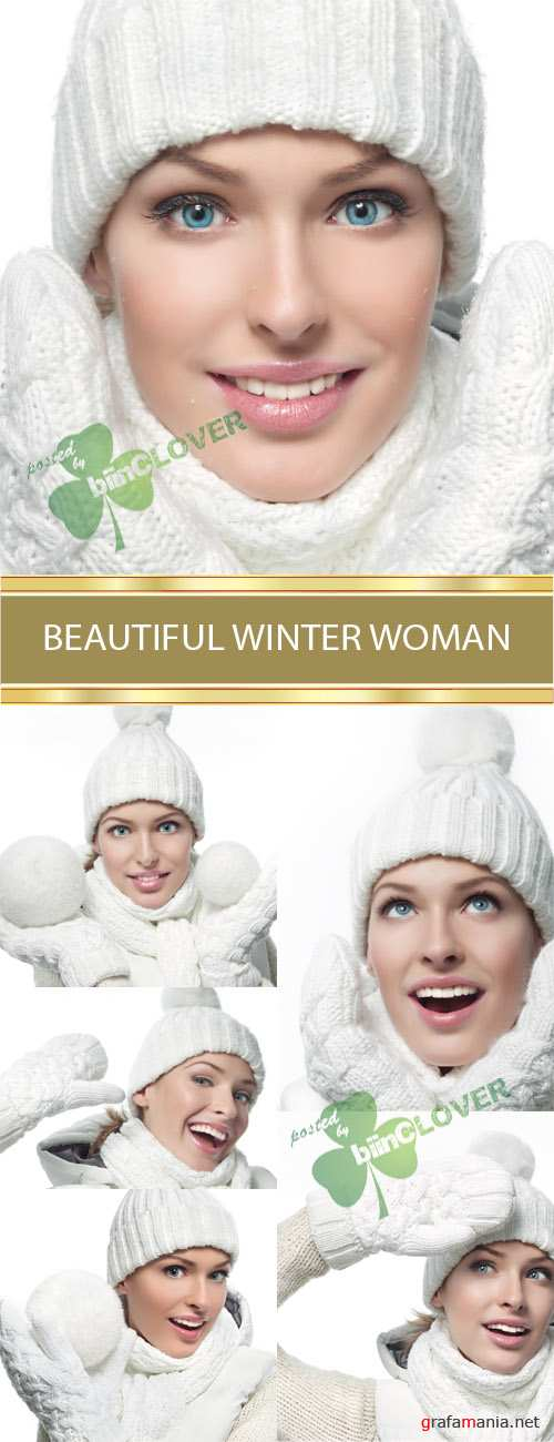 Beautiful winter woman 0017