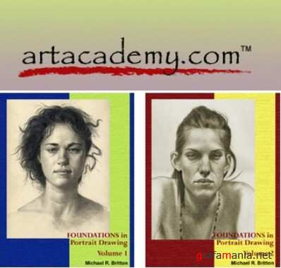 Art Academy - Mastering Portrait Drawing (4 DVD Collection)