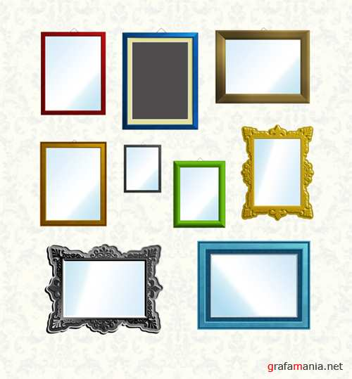 Colourful Frame Set