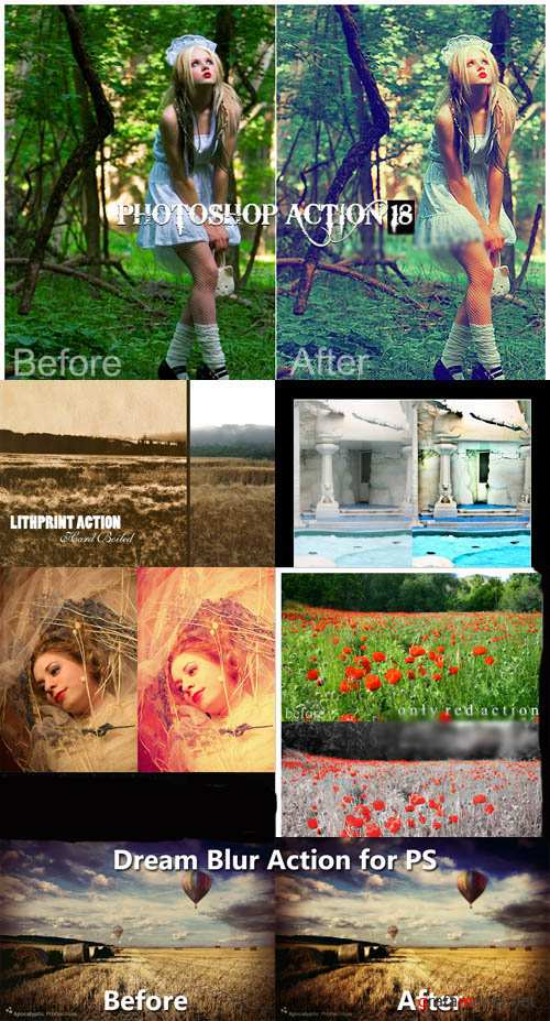 Photoshop Action pack 27