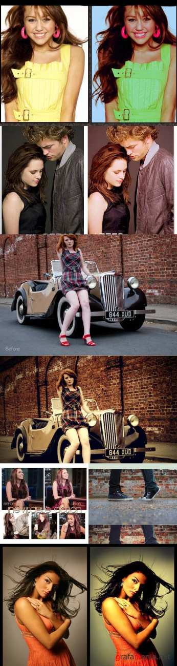 Photoshop Action pack 25