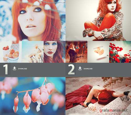 Photoshop Action pack 1, 2