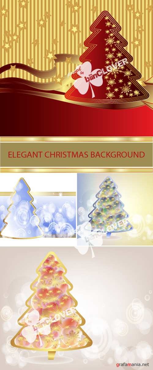 Elegant Christmas background 0024