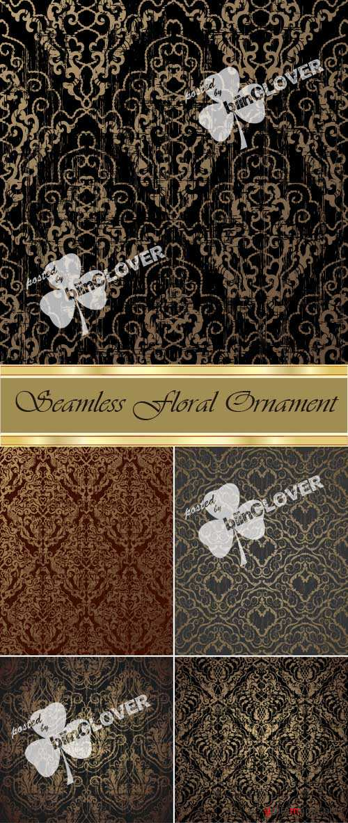 Seamless floral ornament 0027