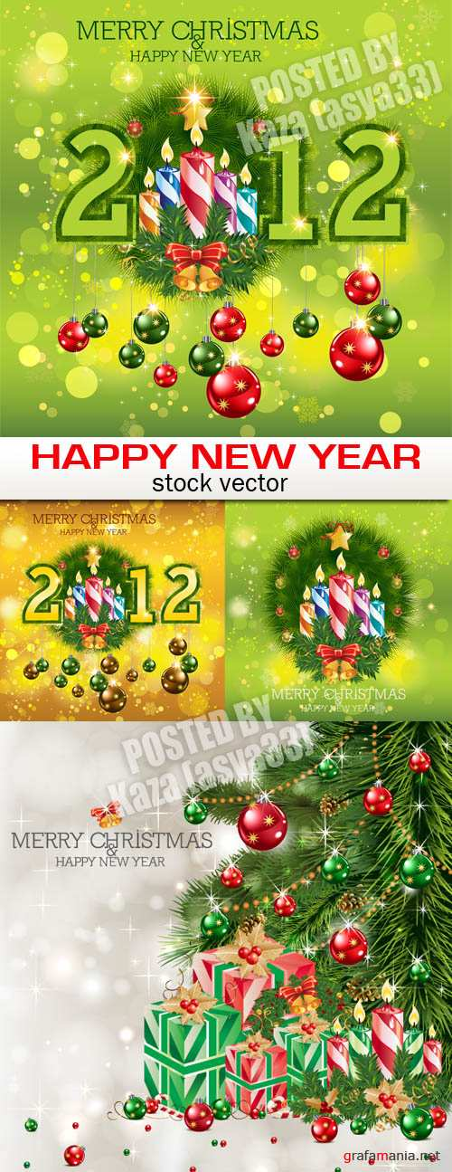 2012 New Year cards