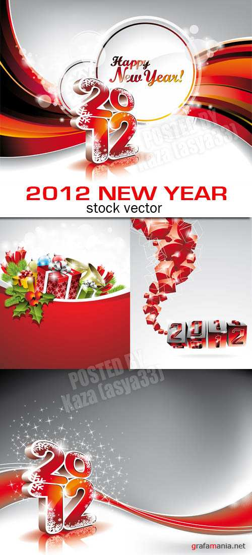 2012 New Year cards 2