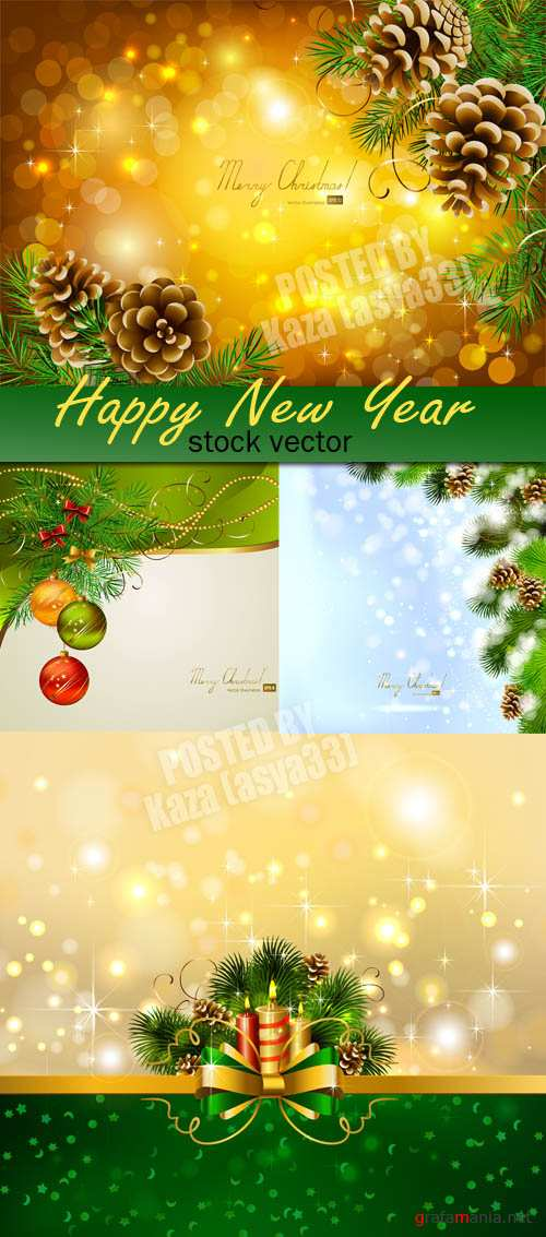 New Year cards 15