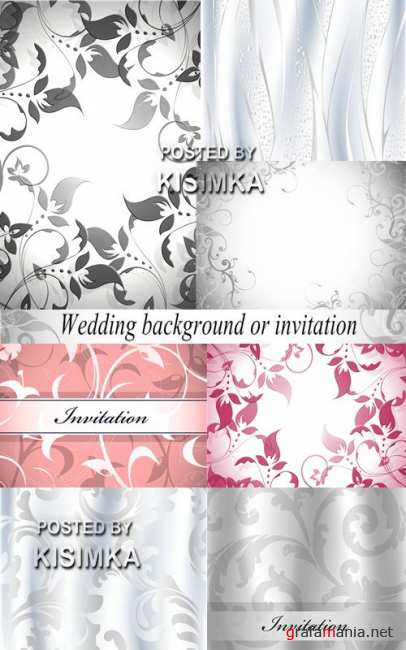 Stock Photo: Wedding background or invitation