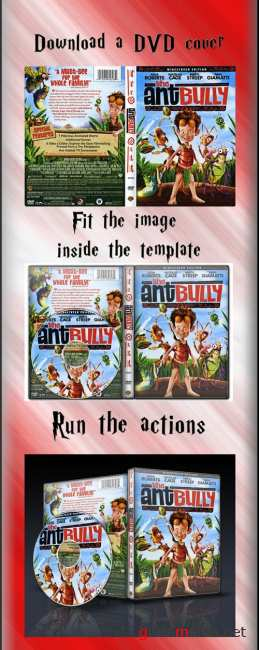 Dvd covers actions