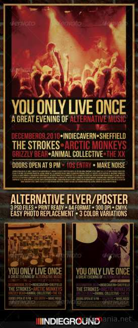 Graphicriver Alternative Flyer/Poster