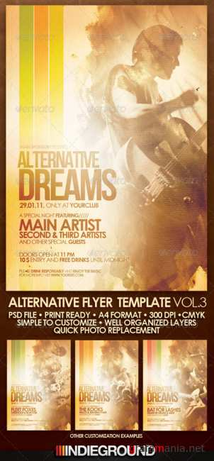 Graphicriver Alternative Flyer/Poster Vol. 3