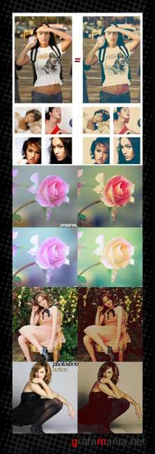 Photoshop Action pack 45